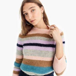 Point Sur Multicolor Striped Alpaca Blend Sweater